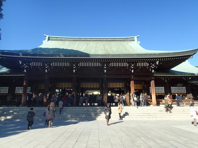 ศาลเจ้าอิเมจิ ย่านฮาราจูกุ