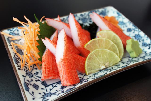 ปูอัดซาชิมิ Kanibou Sashimi // 180 บาท