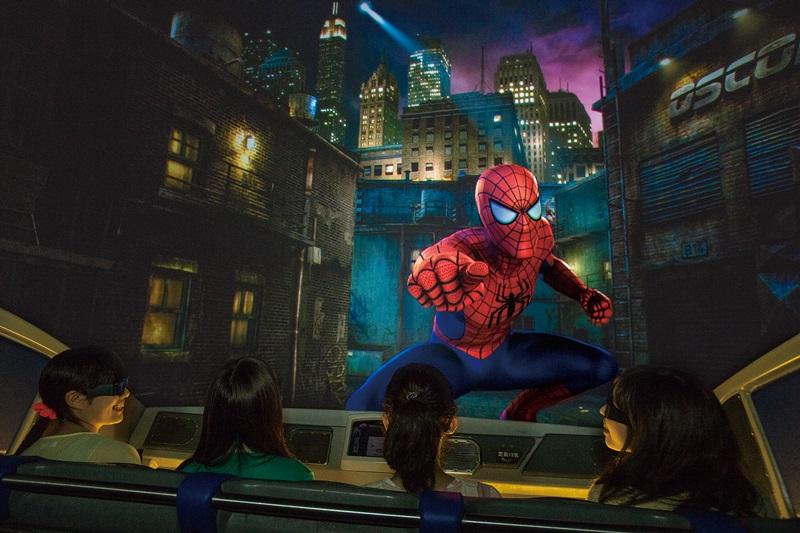 NEW The Amazing Adventurers of Spider-Man-The Ride 4K3D_01