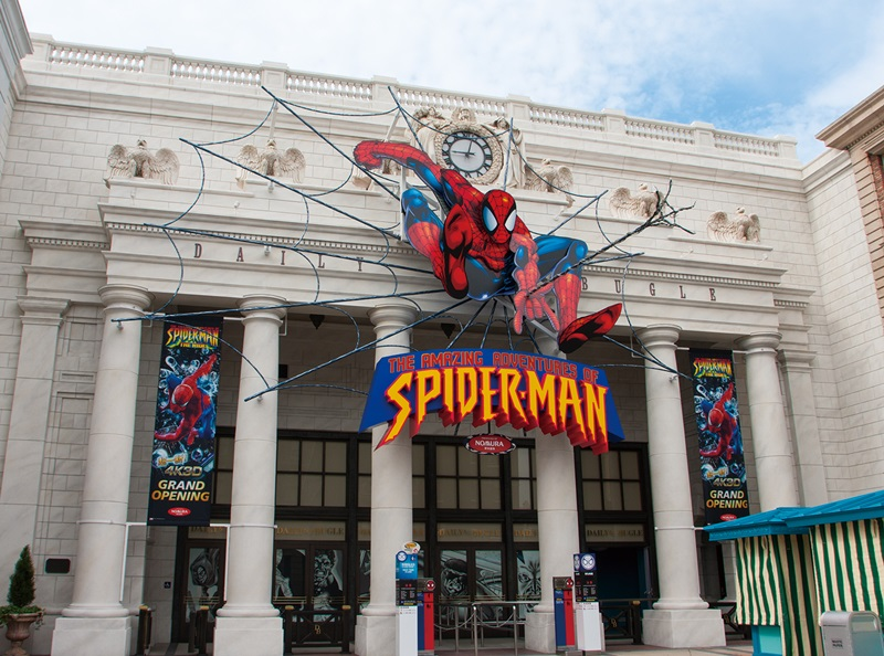 NEW The Amazing Adventurers of Spider-Man-The Ride 4K3D_Entrance