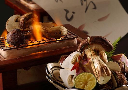 松茸炭火焼き新2012