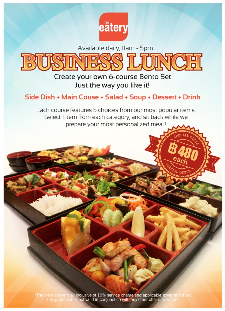 Business Lunch new flyer