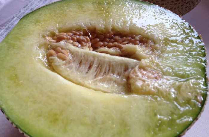 cutted melon