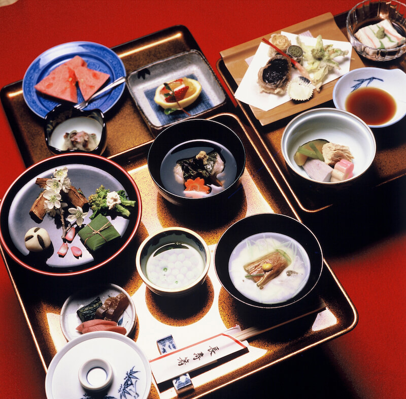 33.Shojin-ryori (Vegetarian cuisine)