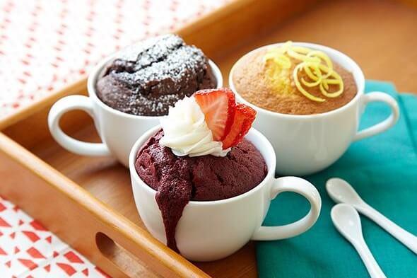 หอมกรุ่นจากเตาไปกับ Mug Cake เบเกอรี่ในแก้วกาแฟง่ายๆ อบได้ด้วยไมโครเวฟ