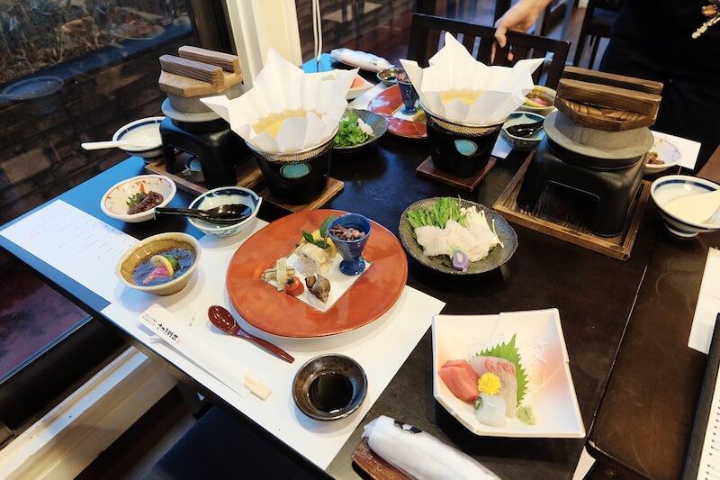 Satsuki Bessou dinner