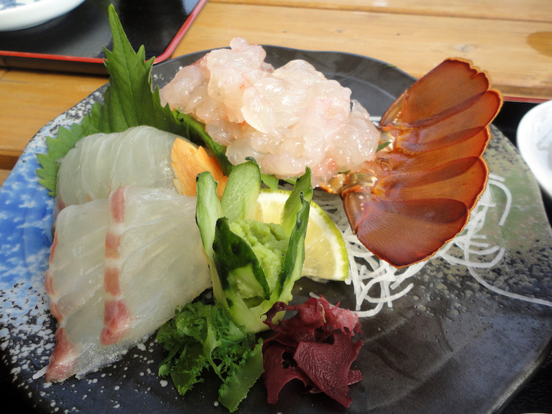 uminaritei ise sashimi