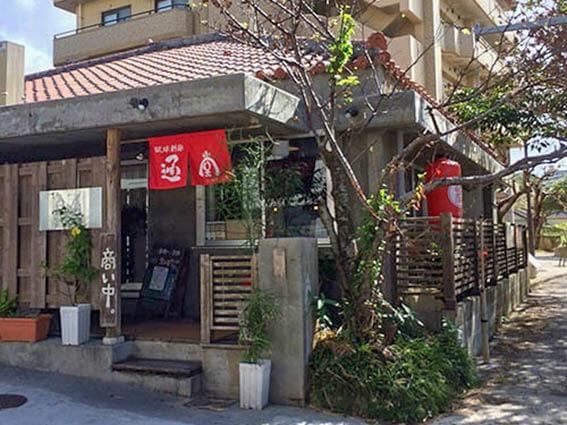 ร้าน Ryukyushinmen Tondou โอกินาว่า