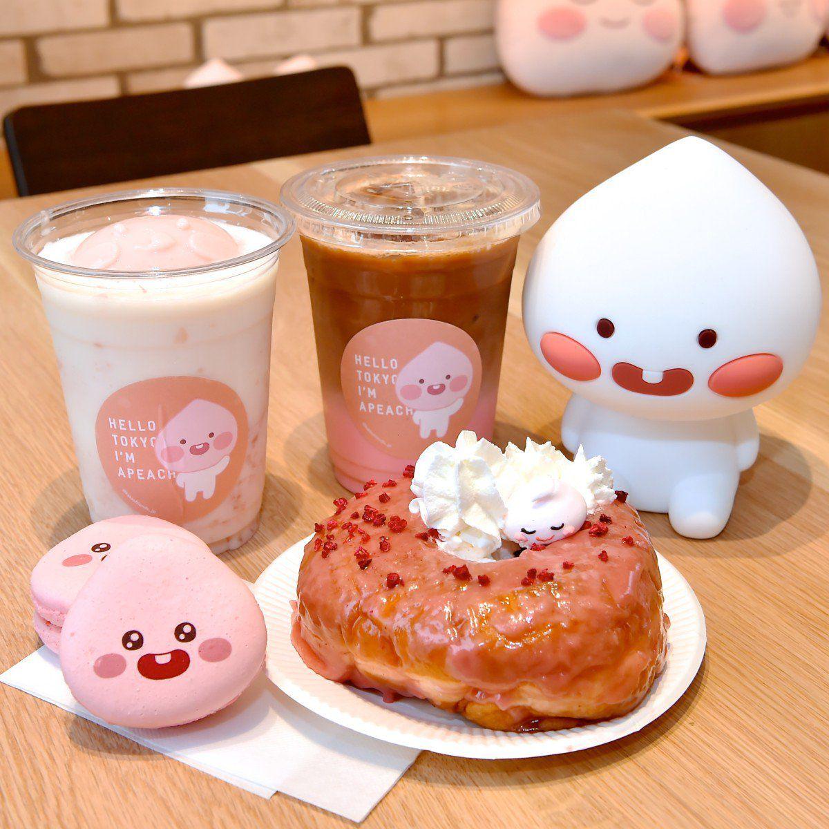 Apeach Café คาเฟ่สีชมพูแสนละมุนที่ไม่ควรพลาดในโตเกียว