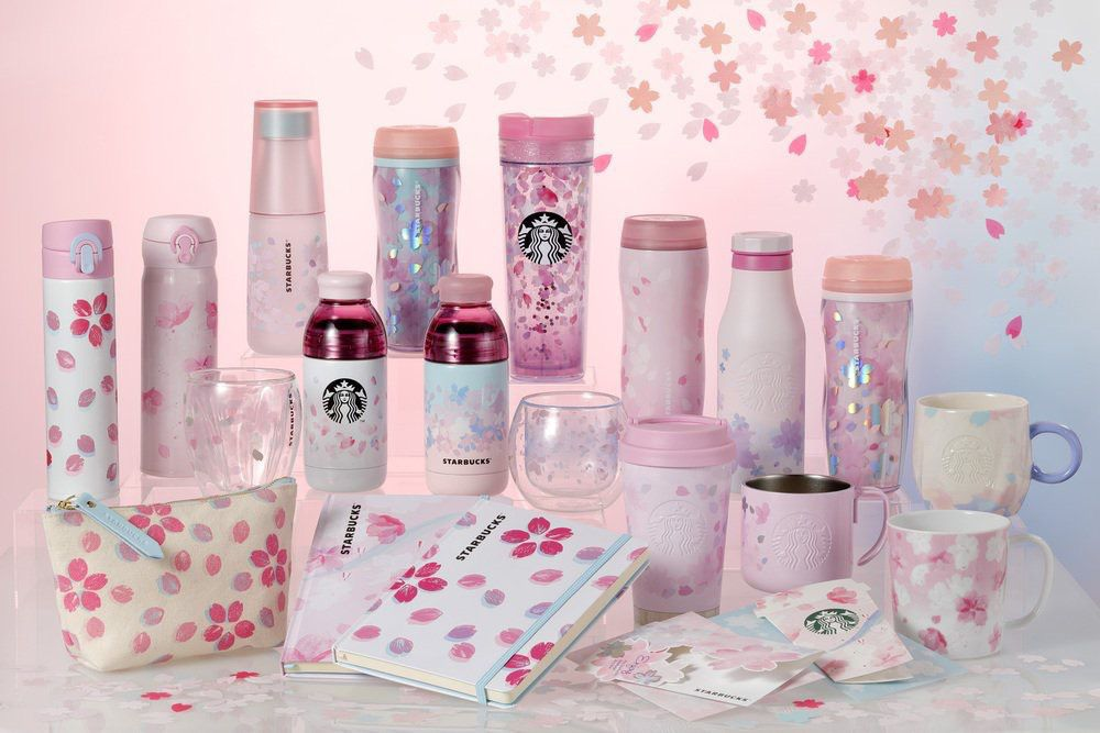"""เตรียมพบกับแก้วและสินค้าต่างๆ ของ STARBUCK ธีม """"Sakura Series"""" ปี 2019"""