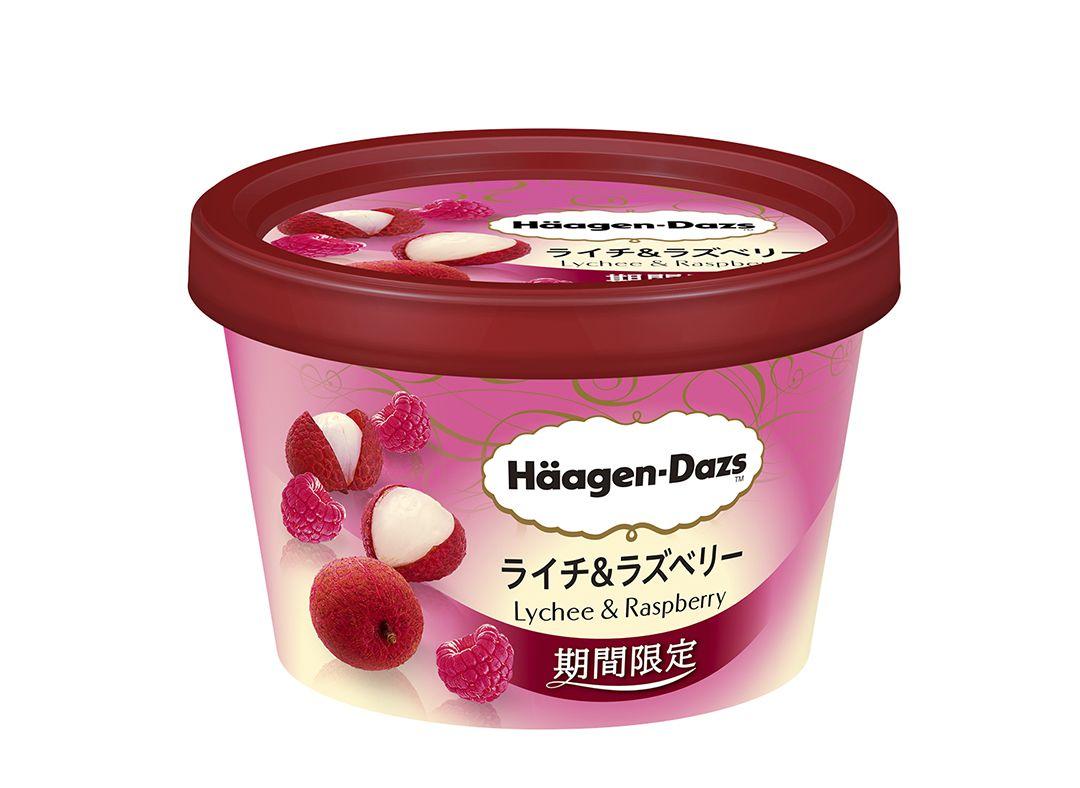 Häagen-Dazs Japan รส ลิ้นจี่&ราสเบอรี่