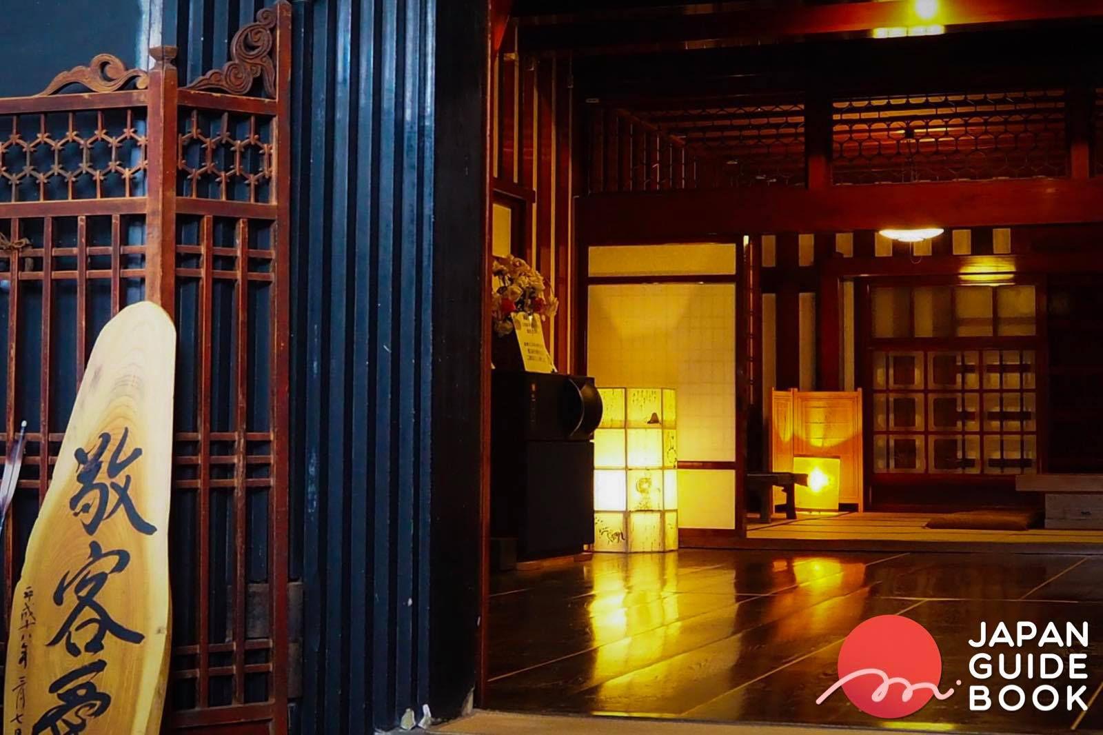 ภายใน Uchigura ของห้องหมักสาเก