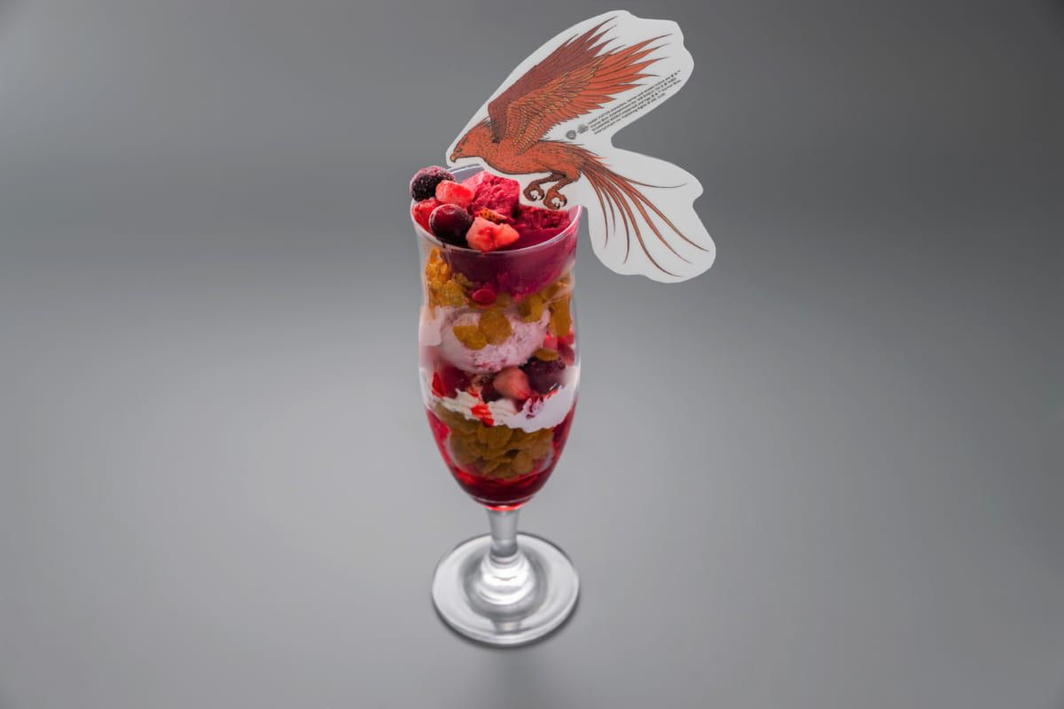 Cassis & Strawberry Parfait / Fawkes