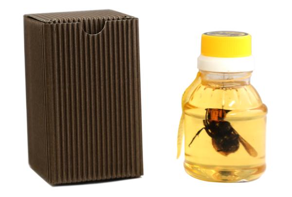 สุดตะลึง!! เมื่อญี่ปุ่นผลิตน้ำผึ้งแช่แตนยักษ์แบบตัวเป็นๆ