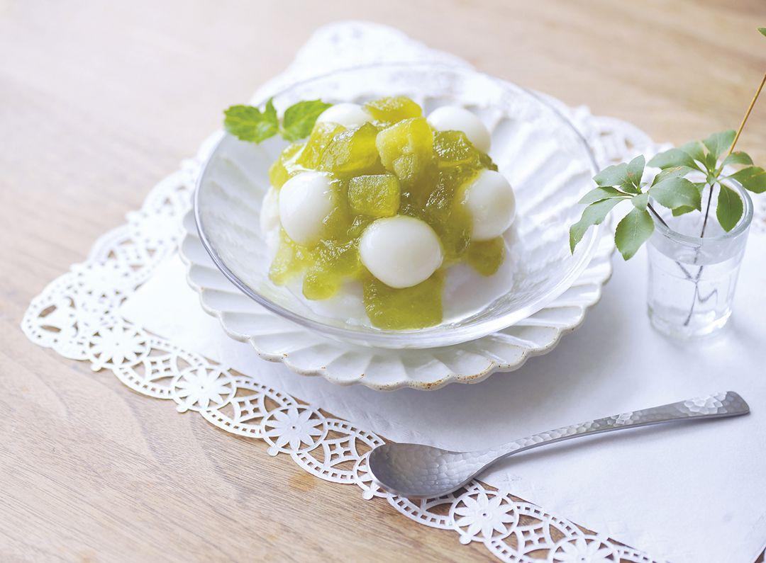 "Imuraya เตรียมวางจำหน่าย ""Yawamochi Ice Fruits Melon & Vanilla"""