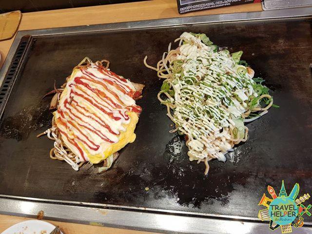 โอโคโนมิยากิ หรือพิซซ่าญี่ปุ่น