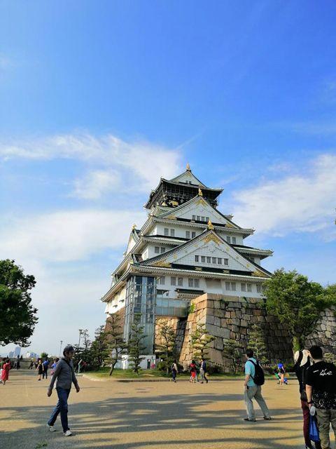 เที่ยวปราสาทโอซาก้า(Osaka Castle)