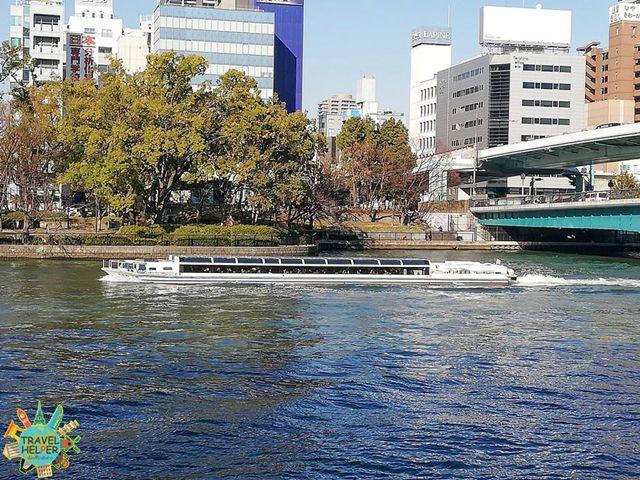 ล่องเรือ Aqualiner ชมวิวเมืองโอซาก้า