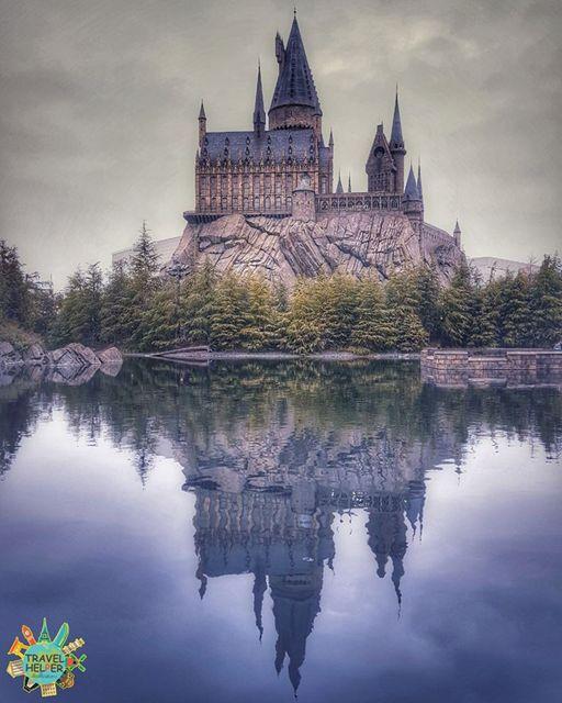 สวนสนุกยูนิเวอร์แซล สตูดิโอ ญี่ปุ่น (Universal Studio Japan) Harry Potter and the Forbidden Journey