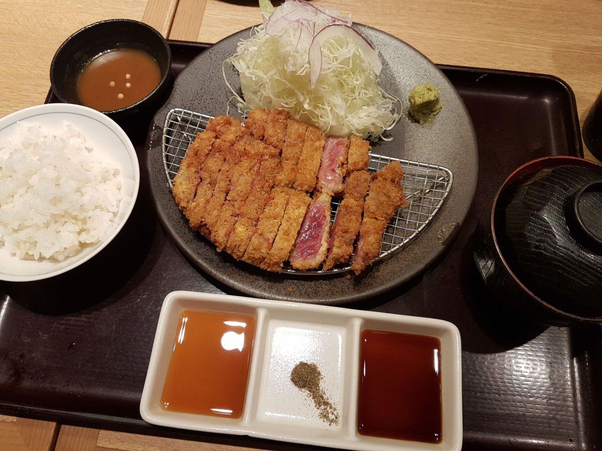 Gyu katsu เนื้อวัวชุบเกล็ดขนมปังทอด  แบบออริจินัลของเกียวโต @KatsuGyu Kyoto Katsu Gyu