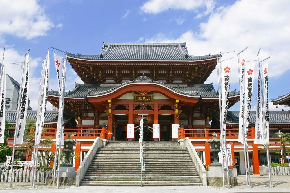 วัดโอสุคันนอน (Osu Kannon Temple) | ที่เที่ยว นาโกย่า (Nagoya)