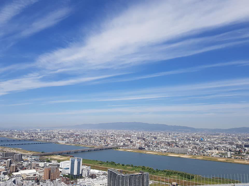 จุดชมวิว โอซาก้า(Osaka) อุเมดะ สกาย บิวล์ดิ้ง (Umeda Sky Building)