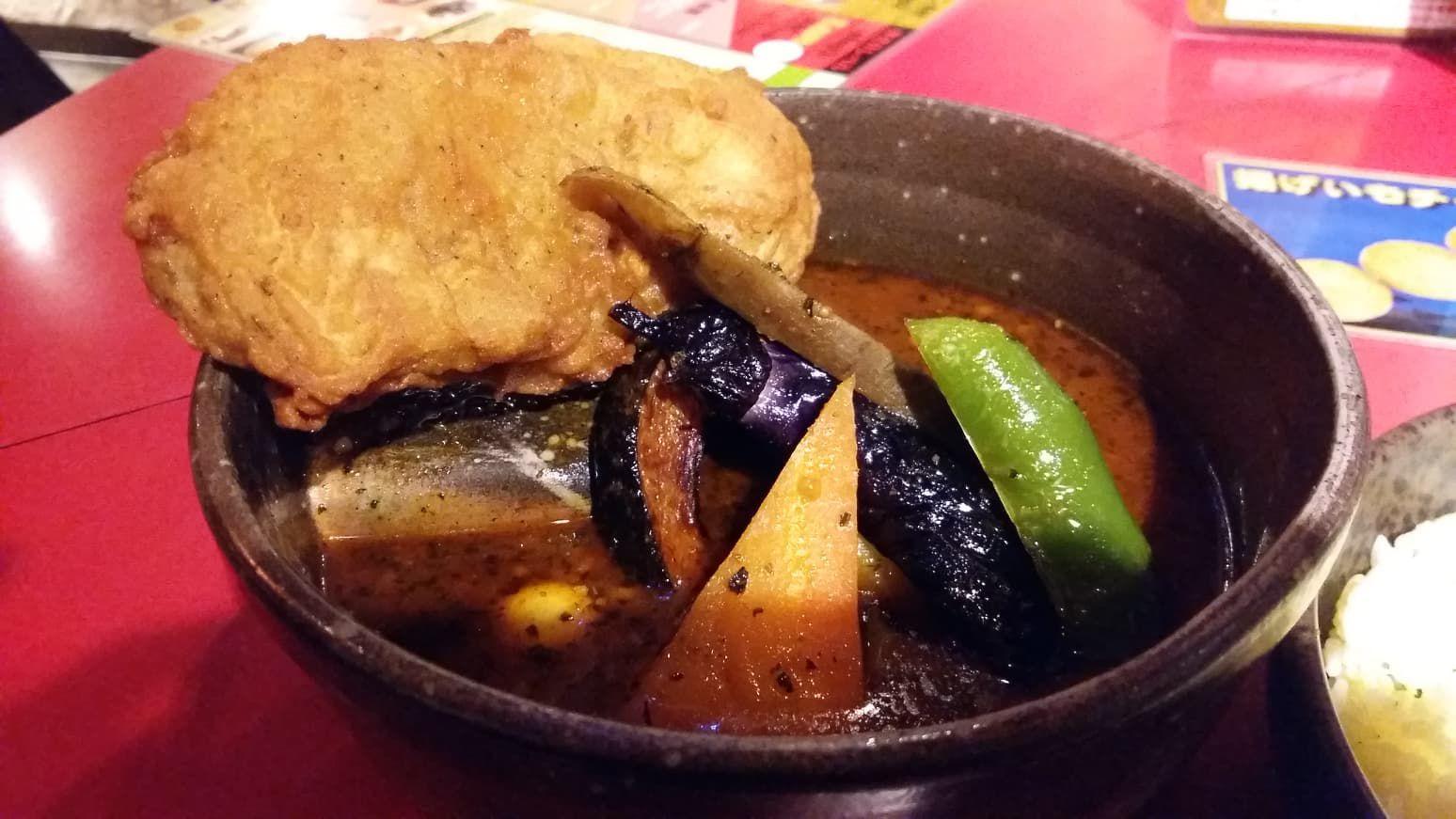 Picante Soup Curry at Sapporo (Hokkaido)