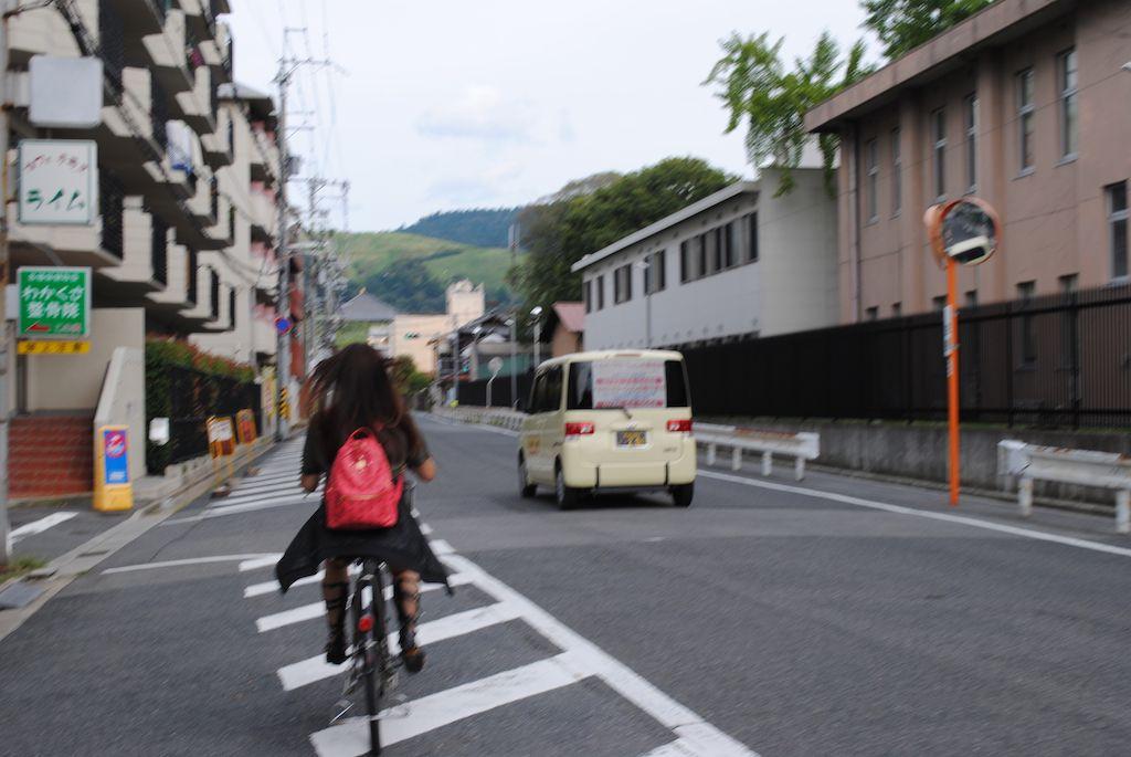 ขี้จักรยานที่ Nara