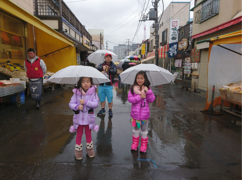 ตลาดเช้าฮาโกดาเตะ (Hakodate Morning Market) จังหวัดฮอกไกโด(Hokkaido)