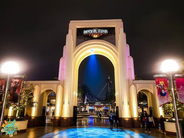 สวนสนุก Universal Studios Japan ที่ญี่ปุ่นเมืองโอซาก้า (Osaka)