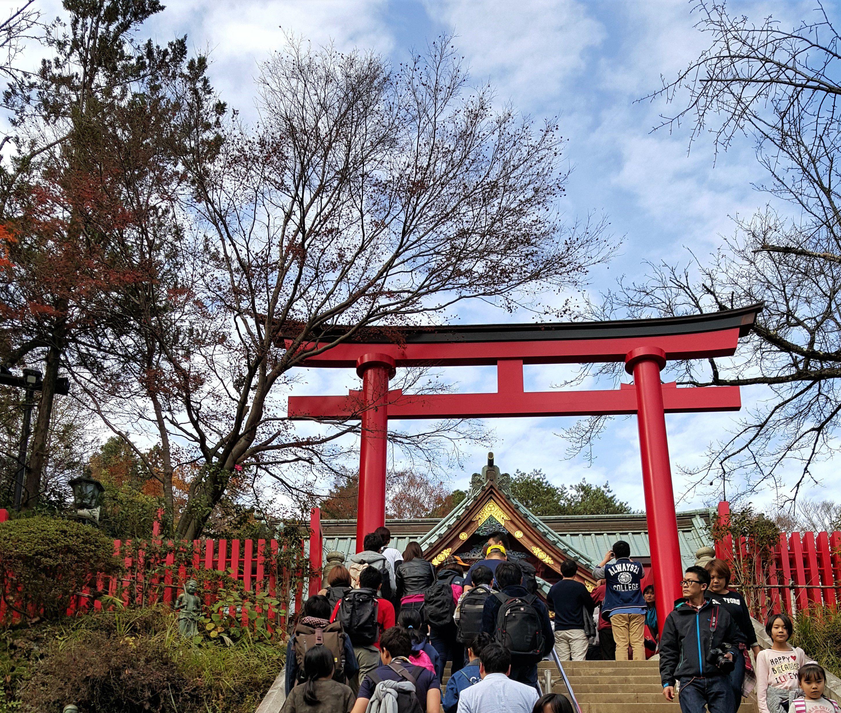 Takao Yakuo-in เป็นวัดเก่าแก่อายุพันกว่าปี