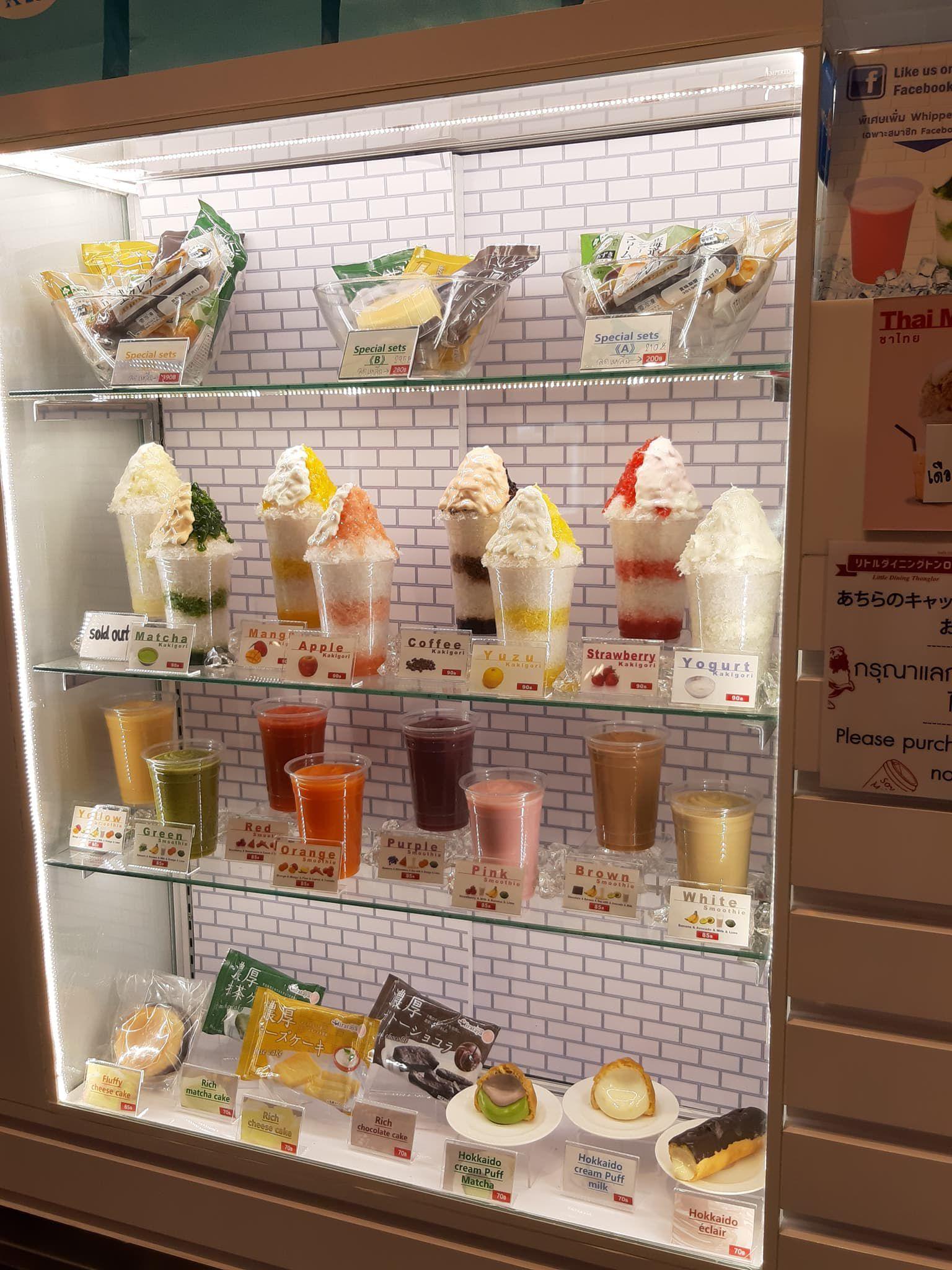 ทาน Kakigori ชื่นใจ ที่ร้านK-Lab @DONKI Mall Thonglor
