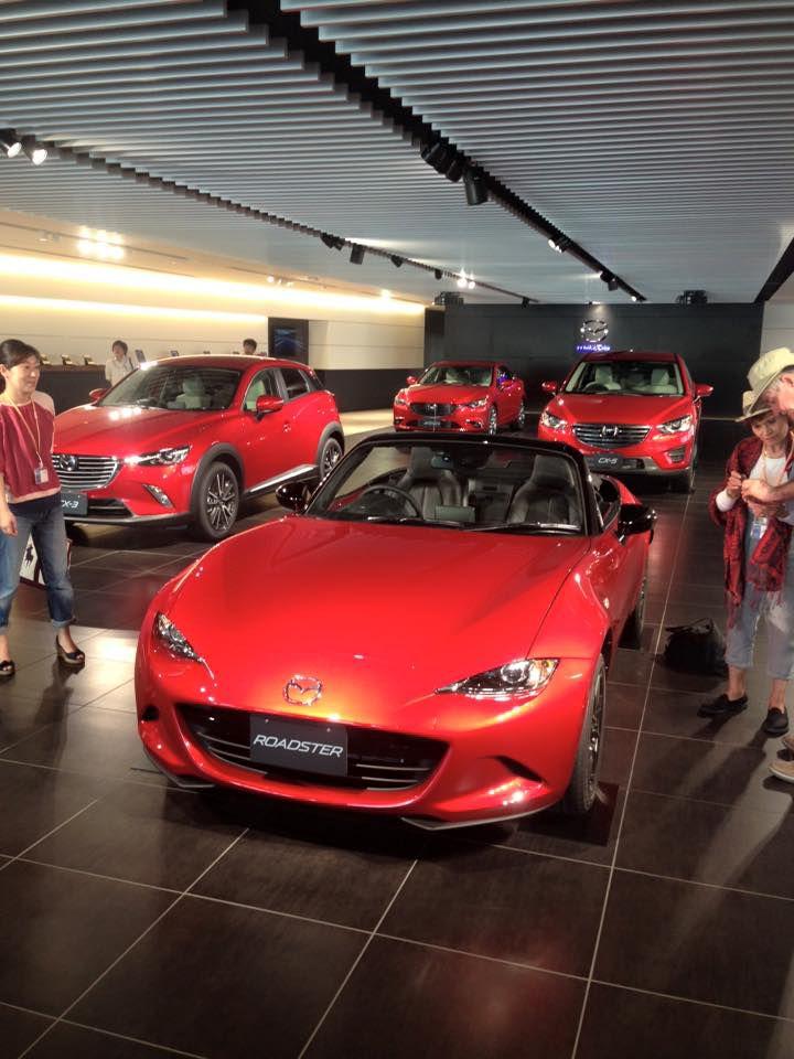 เข้าชมรถ พิพิธภัณฑ์มาสด้า (Mazda Factory & Museum Tour)