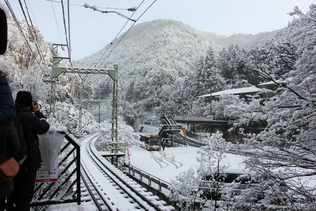 ศาลเจ้าคิฟุเนะ (貴船神社) และวัดคุรามะ (鞍馬寺)