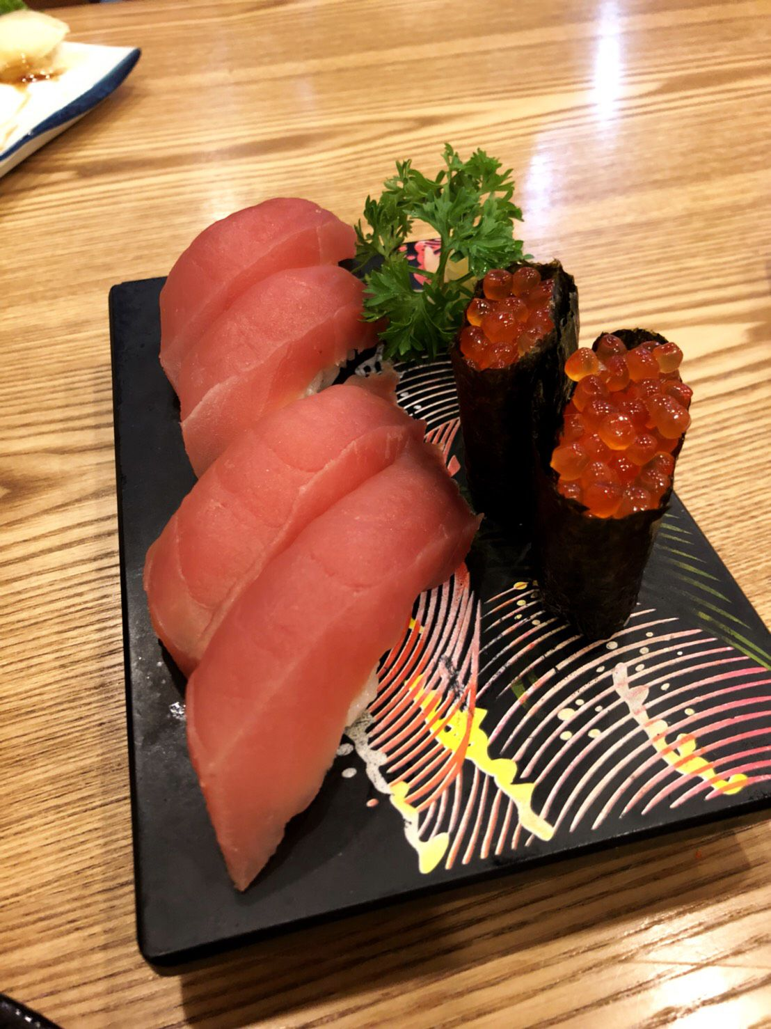 """ร้านอาหารญี่ปุ่น """"ซูชินะ"""" (Sushina) เมนูปลาดิบภูเขาไฟ"""