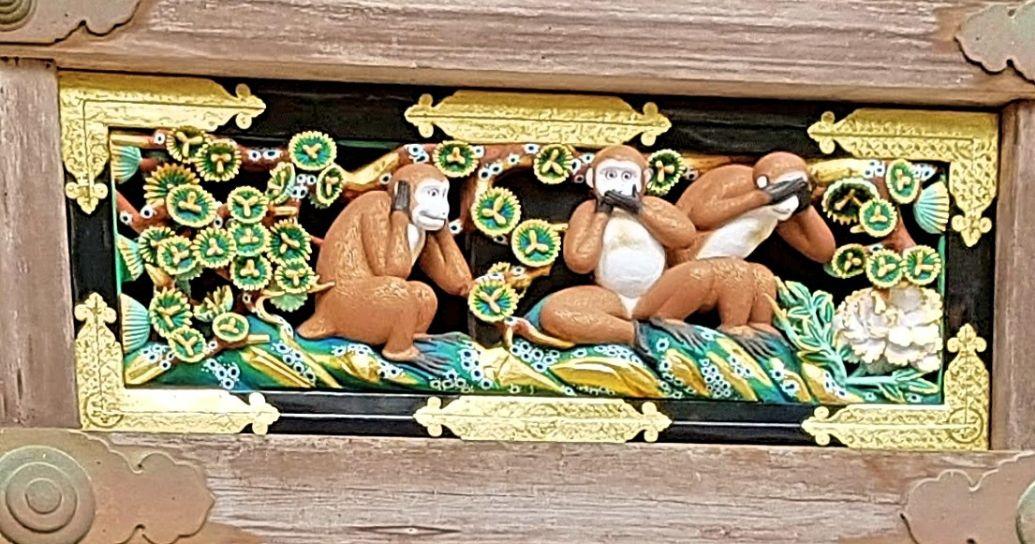 ลิงสามตัว(三猿– sanzaru)