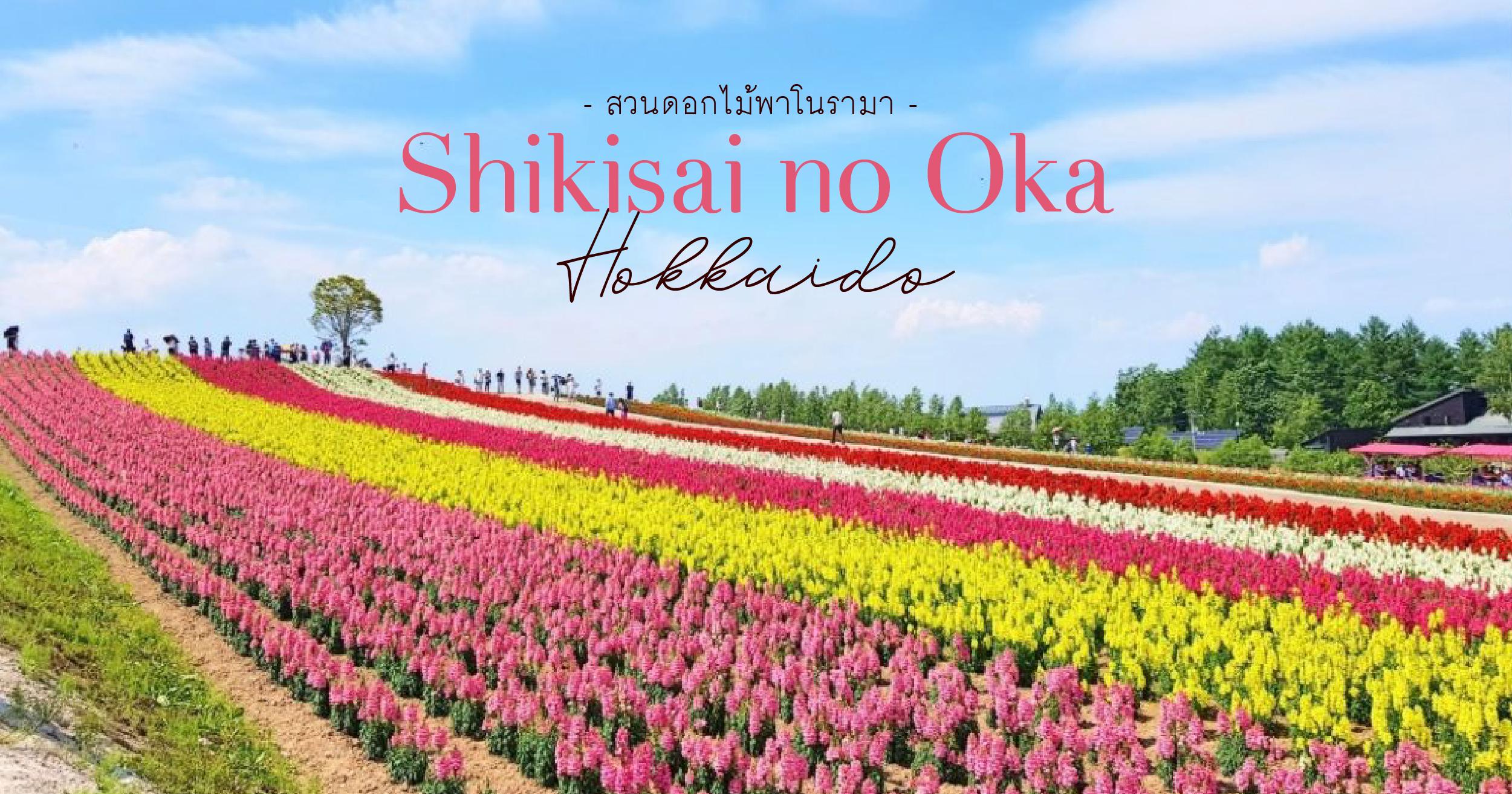 flower-park Shikisai no Oka Hokkaido