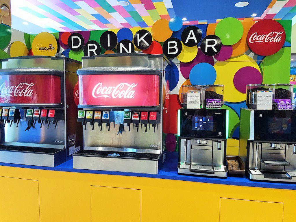 บาร์เครื่องดื่ม กดได้ไม่อั้น สวนสนุก ธีมพาร์คแห่งใหม่ที่นาโกย่า (Nagoya) คือ เลโก้แลนด์ Legoland @Japan Resort