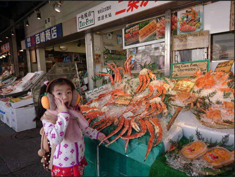 ตลาดปลานิโจ (Nijo Market)