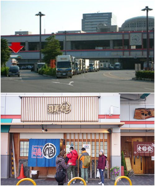 วิธีการเดินทางไปร้านเอ็นโดซูชิ (Endo sushi) ร้านซูชิตำรับโอซาก้า ที่ตลาดปลาโอซาก้า บอกเซฟได้เลยจะกินอะไร
