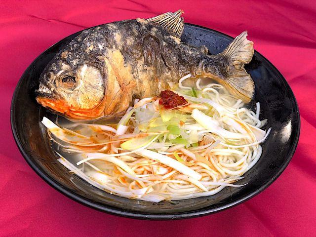 """เมนูพิสดาร """"ราเม็งปิรันย่า"""" ที่แรกในญี่ปุ่น"""