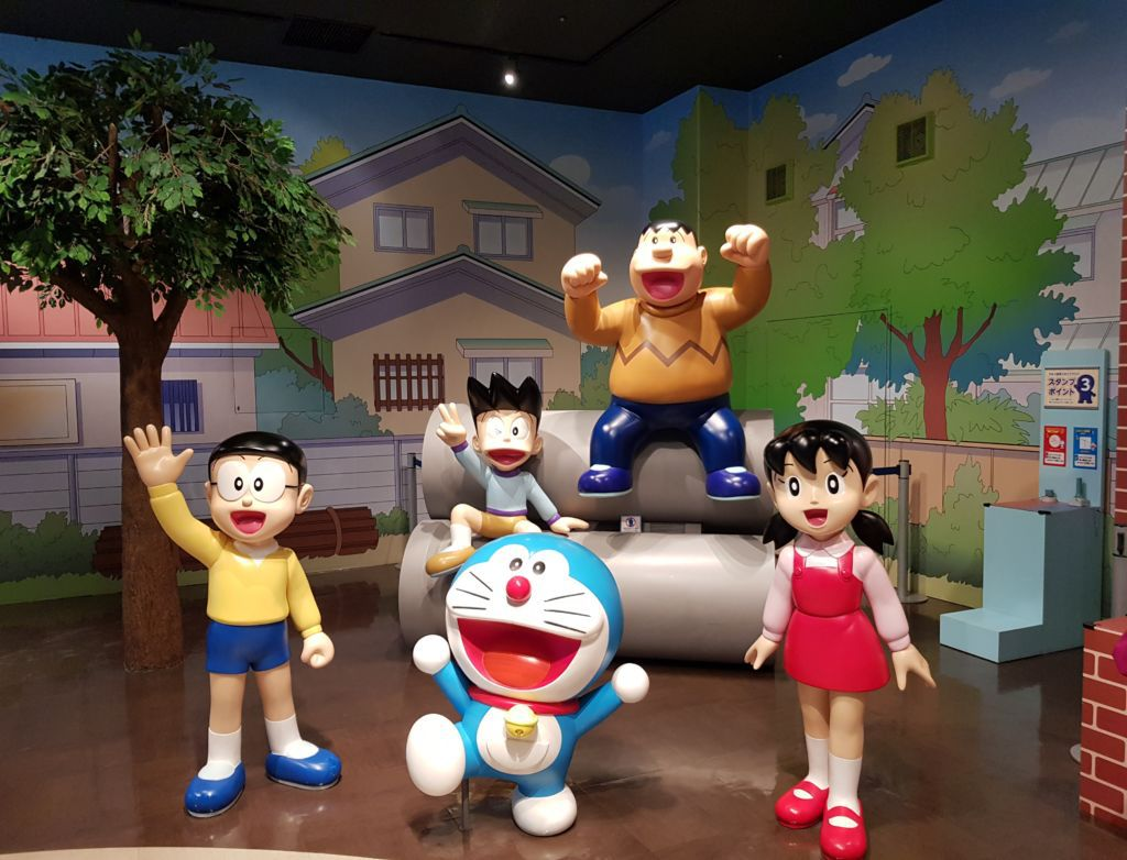 สนามเด็กเล่น Doraemon WAKU WAKU SKY PARKสนามบิน New Chitose ฮอกไกโด