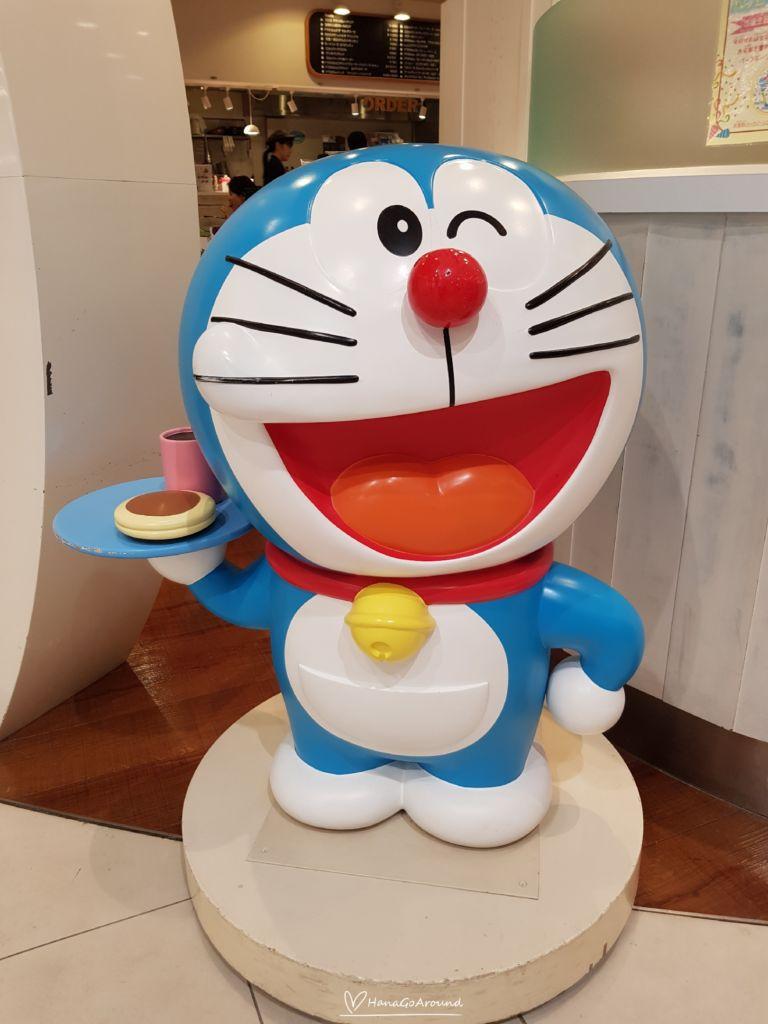 Doraemon WAKU WAKU SKY PARK Cafe สนามบิน New Chitose ฮอกไกโด