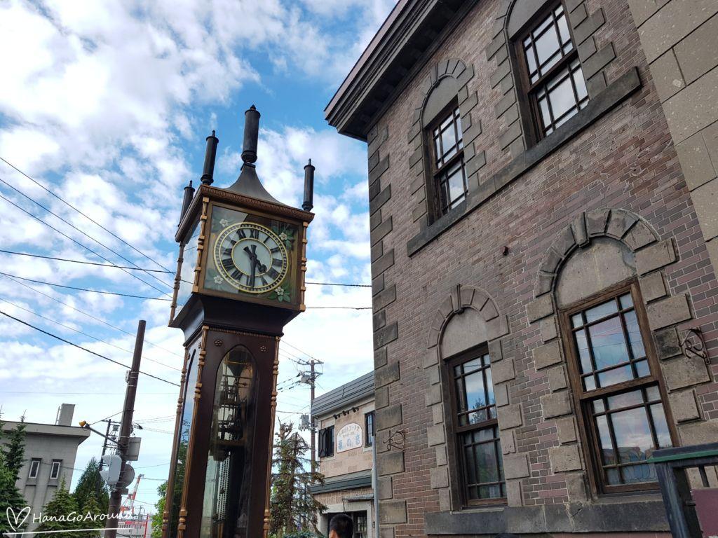 นาฬิกาไอน้ำโบราณเมืองโอตารุ (Otaru Steam Clock Tower)