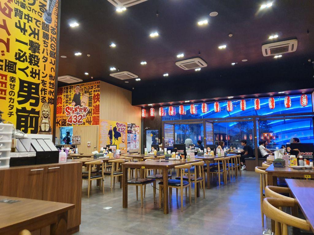 กินดื่มแบบญี่ปุ่นอิซากายะ ที่ SHAKARiKi สาขา101 The Third Place เมนูอาหาร