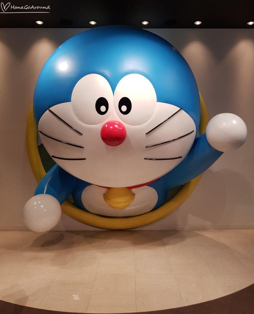 ห่วงผ่านตลอด Doraemon WAKU WAKU SKY PARKสนามบิน New Chitose ฮอกไกโด
