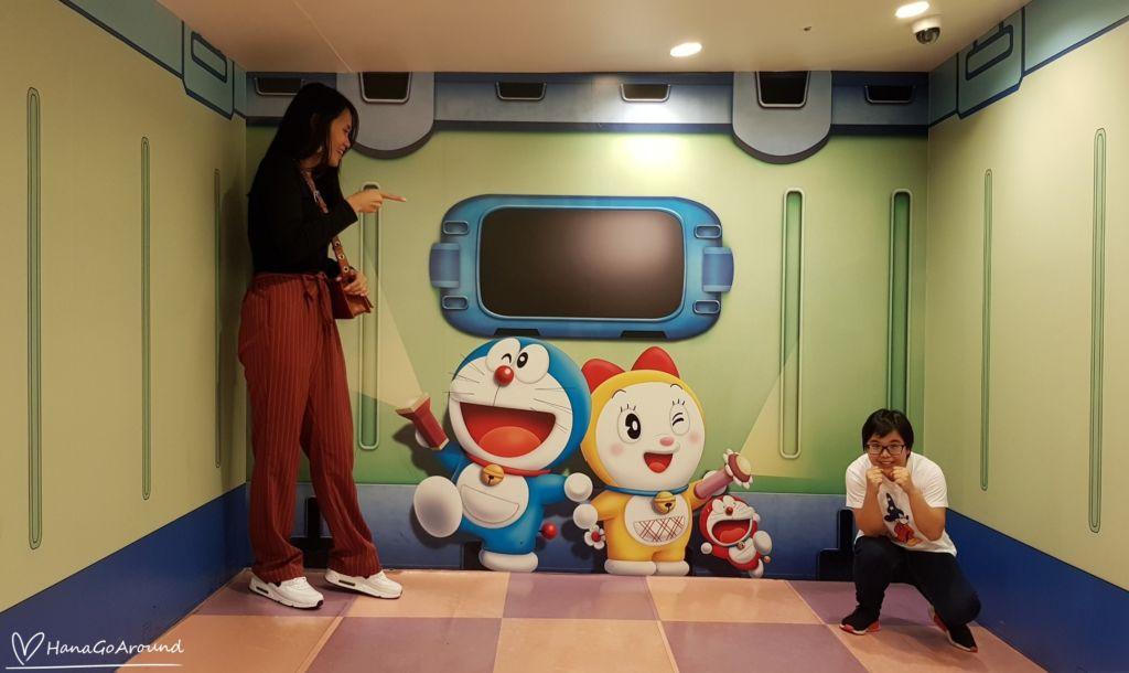 ไฟฉายย่อส่วน ไฟฉายขยายส่วน Doraemon WAKU WAKU SKY PARKสนามบิน New Chitose ฮอกไกโด