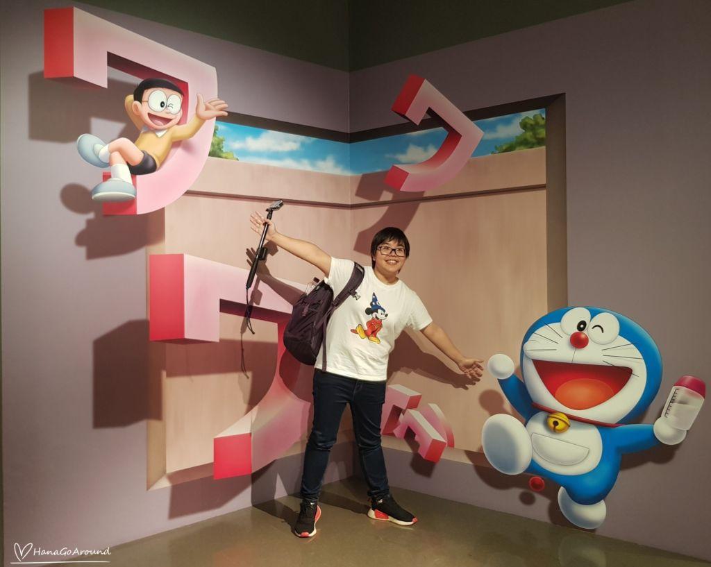 ยาปั้นเสียงเป็นตัว Doraemon WAKU WAKU SKY PARKสนามบิน New Chitose ฮอกไกโด