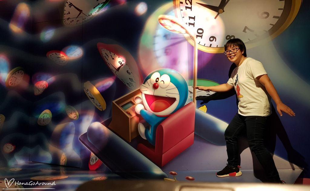 ไทม์แมชชีน Doraemon WAKU WAKU SKY PARKสนามบิน New Chitose ฮอกไกโด