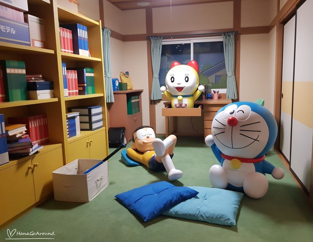 ห้องนอนโนบิตะ Doraemon WAKU WAKU SKY PARKสนามบิน New Chitose ฮอกไกโด